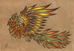 Phoenix - tattoo design