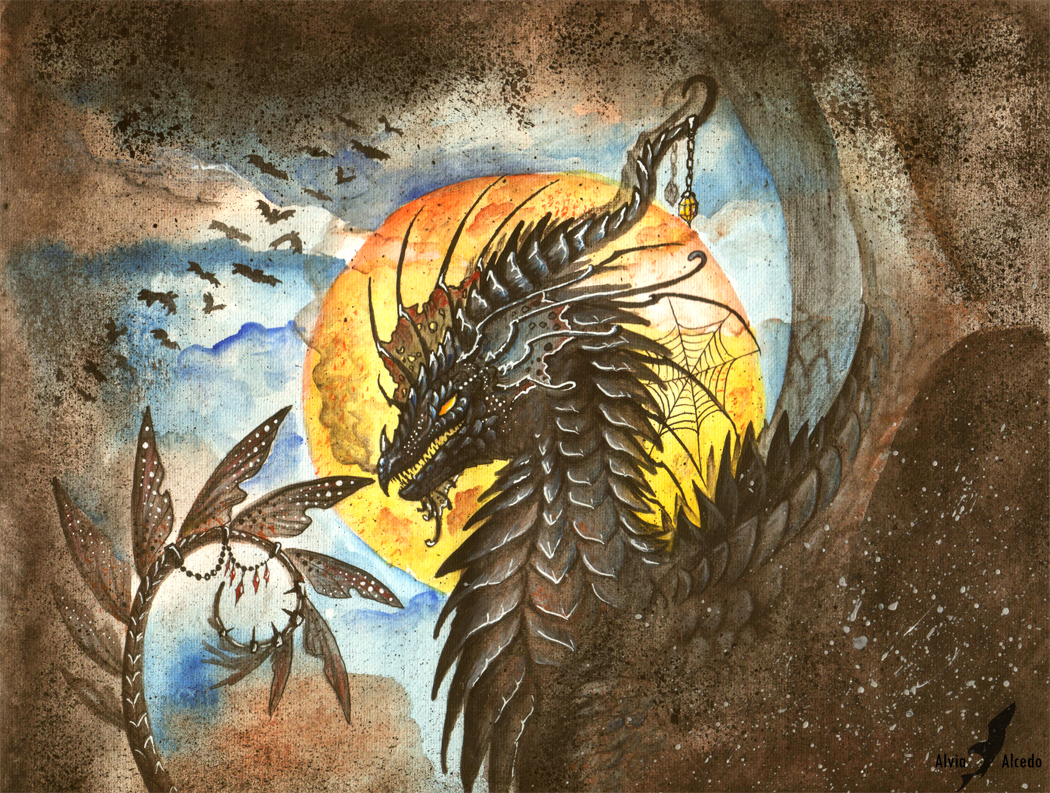 The Night Hunter by AlviaAlcedo