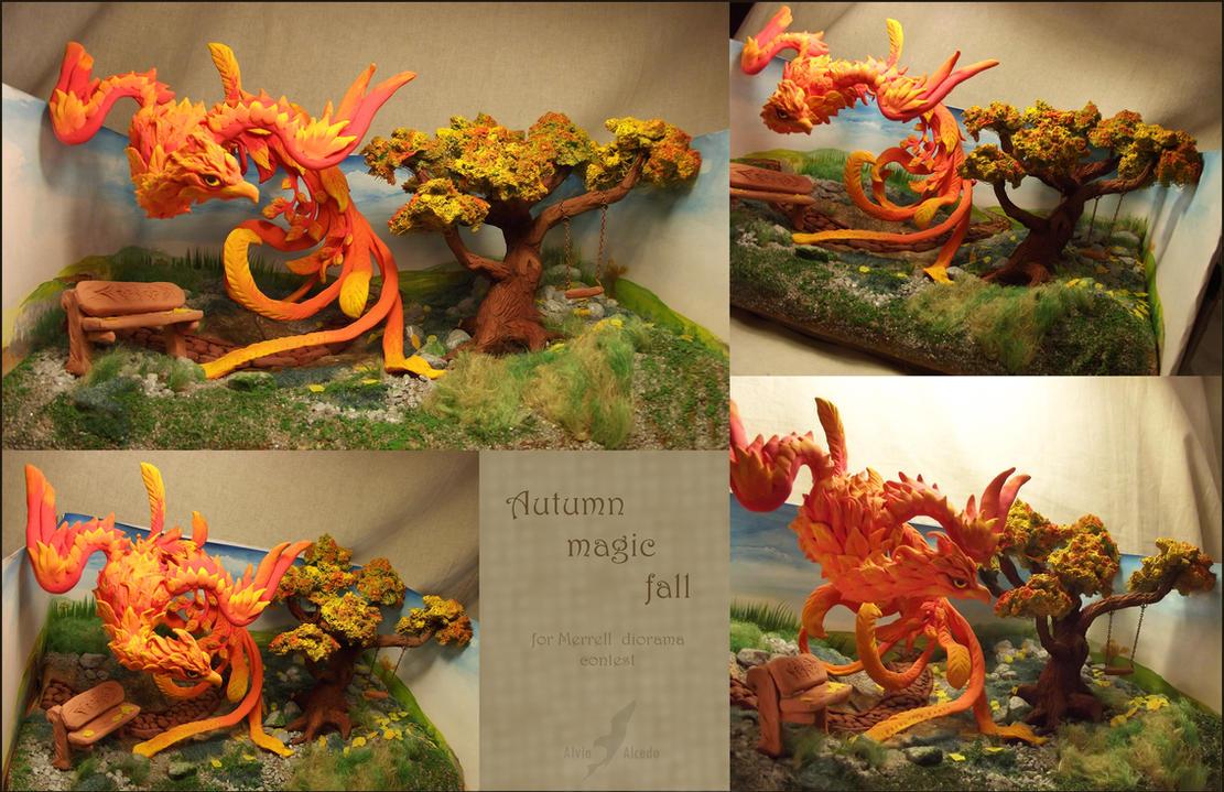 Autumn magic fall by AlviaAlcedo