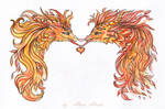 Autumnal dragons - ties of love