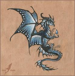 Dark water dragon design