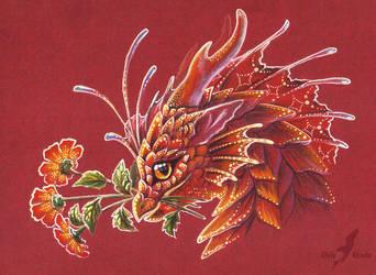 Friendly dragon by AlviaAlcedo