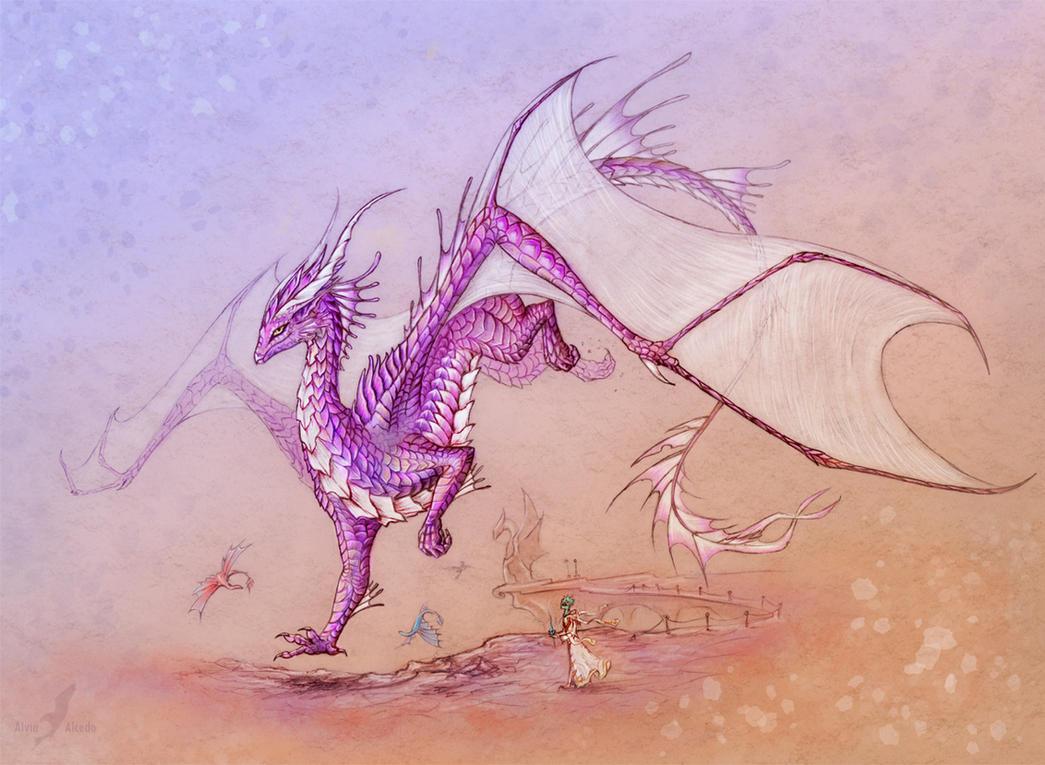 Vaokrys - character design by AlviaAlcedo