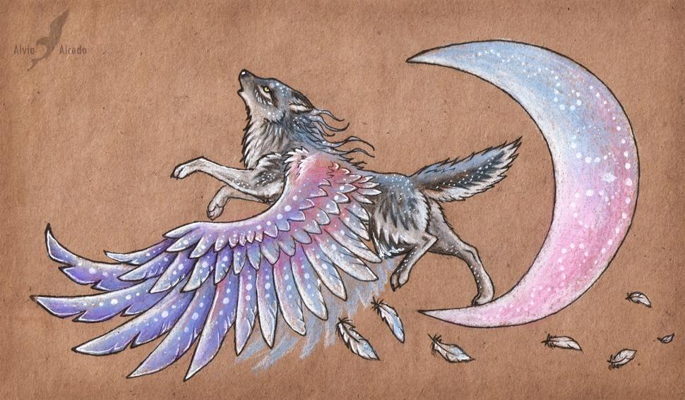 Moon singer by AlviaAlcedo