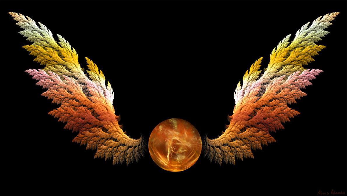 Golden snitch - fractal by AlviaAlcedo