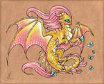 Fluttershy dragon