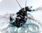 Pokemon shiny umbreon  - glowing in dark