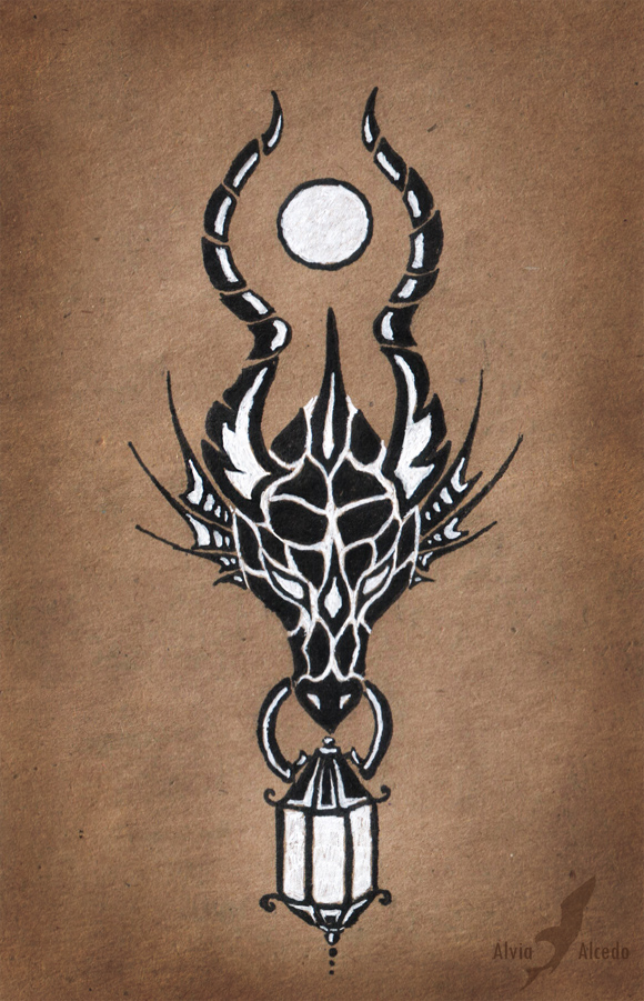 dragon of the full moon by alviaalcedo on deviantart. Black Bedroom Furniture Sets. Home Design Ideas