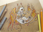 Little gryphon of Fire