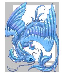 Little azure dragon by AlviaAlcedo