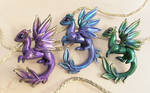 Golden trio  - dragons