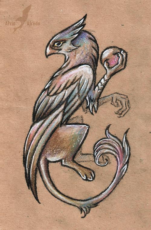 Wizard griffin by AlviaAlcedo