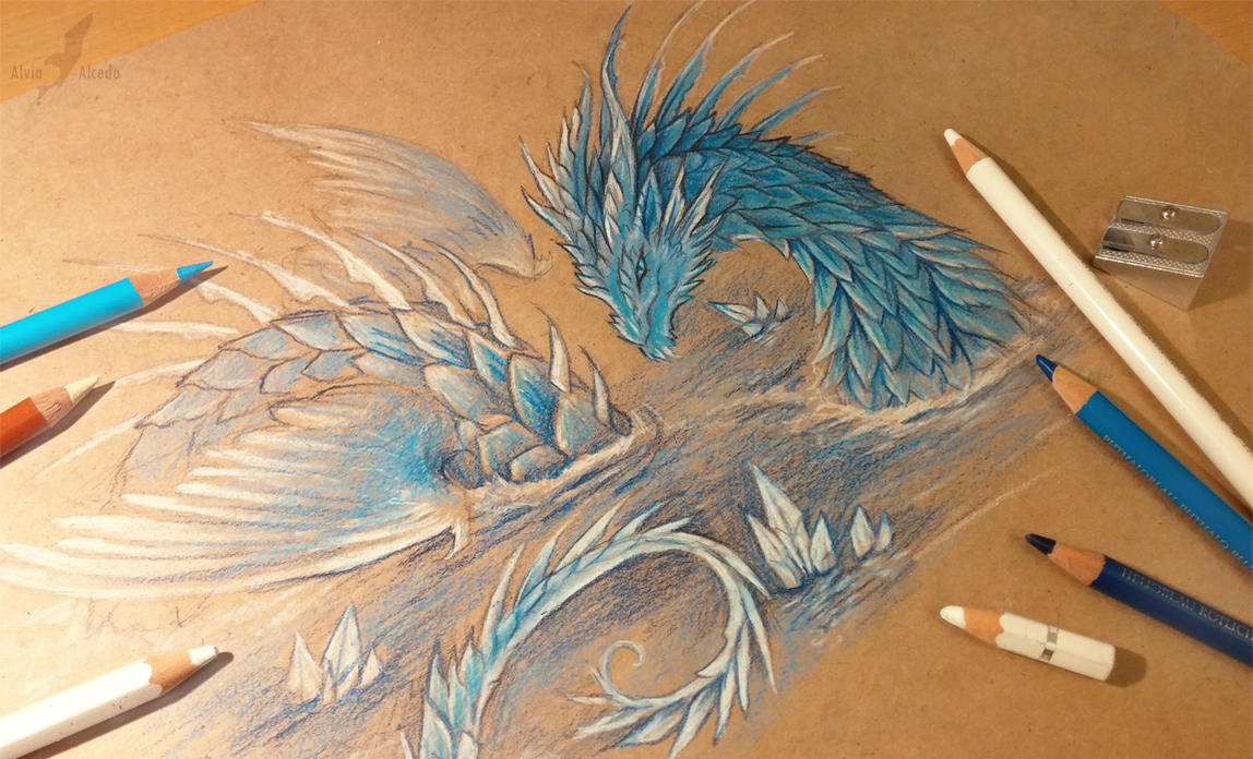 Leviathan tattoo design [WIP] by AlviaAlcedo