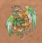 Little hazelnut dragon
