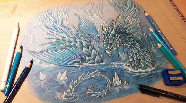 Leviathan tattoo  design