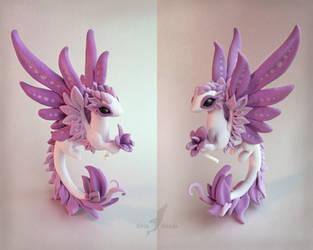 Orchid dragon by AlviaAlcedo