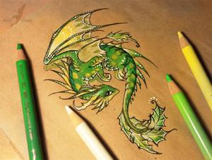 Little holly dragon