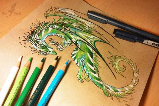 Nature dragon