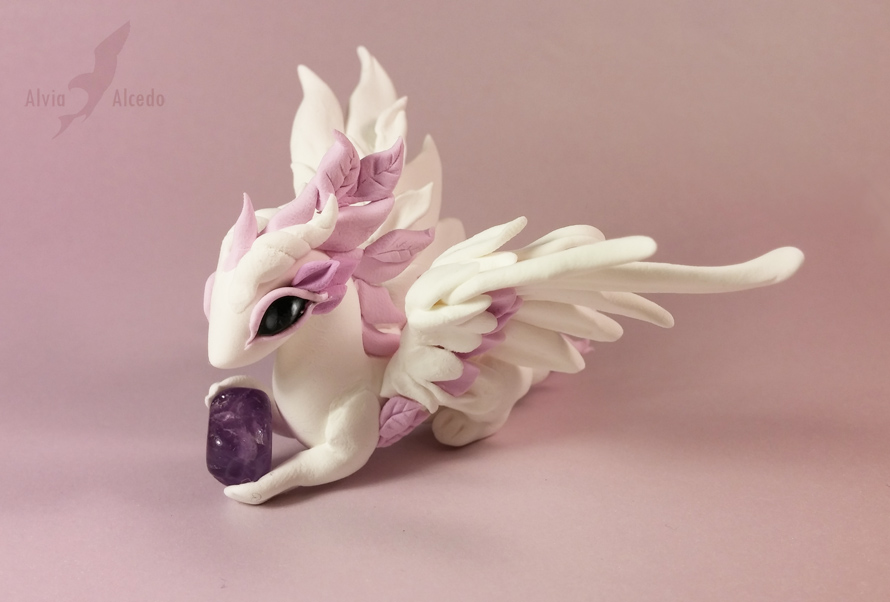 Amethyst rose dragon 1 by AlviaAlcedo