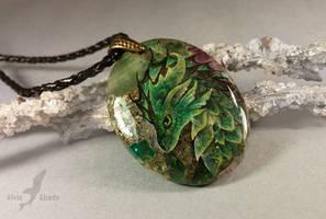 Emerald mountain dragon