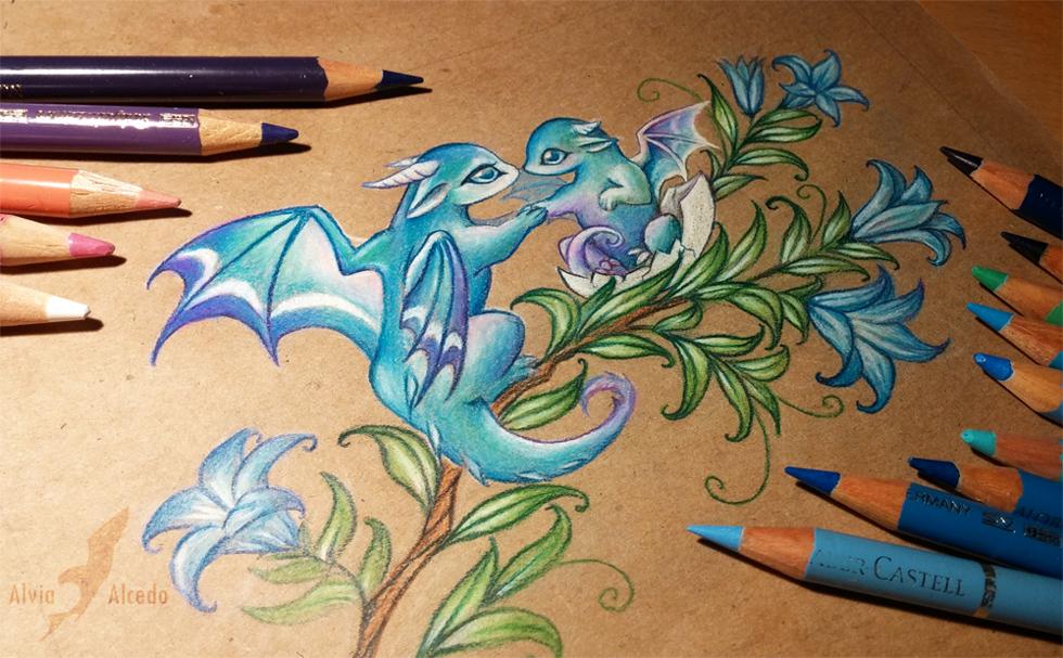 Little dragons by alviaalcedo on deviantart for Little dragon tattoo