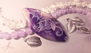 Violet forest dragon