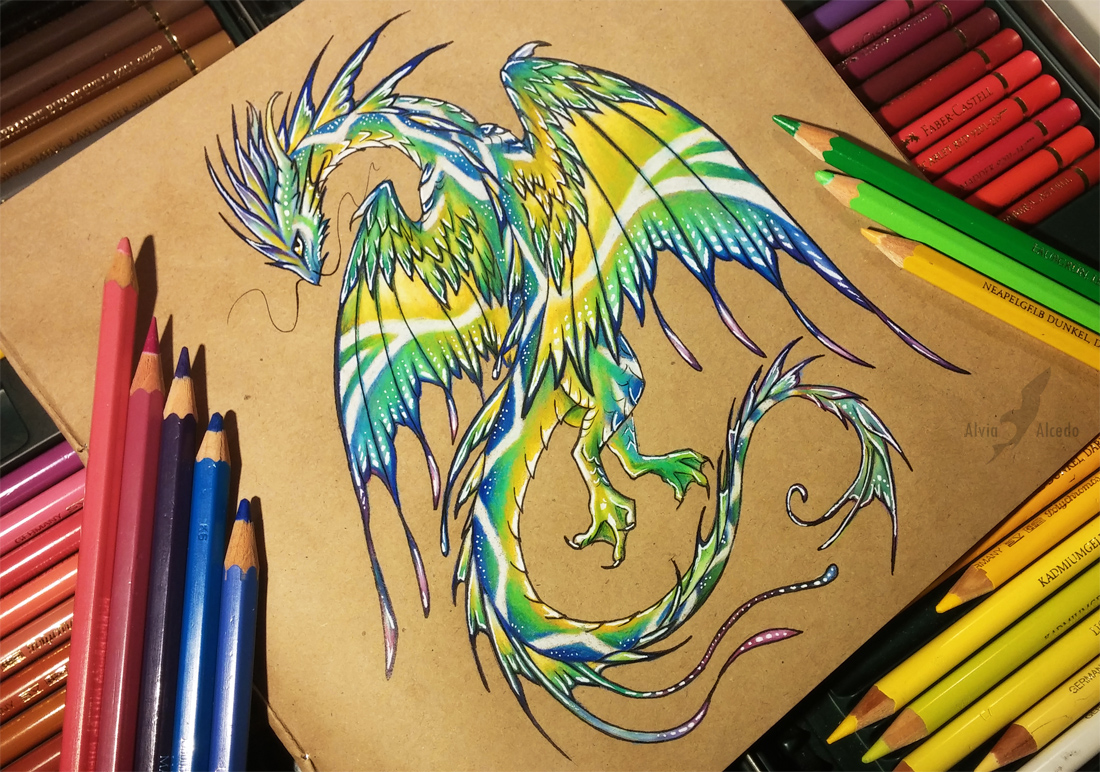 South sea dragon [Ebay auction] by AlviaAlcedo