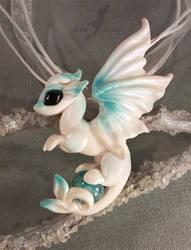 White ocean dragon