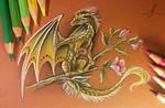 Forest flower dragon