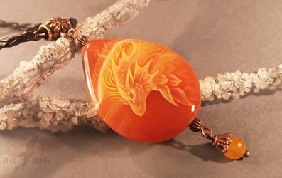 Sunny fire dragon