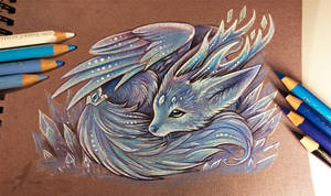 Crystal fox spirit