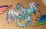 Magic love dragon