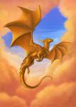 Dragon of the Golden sunrise