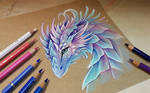 Dragon from fairy tale