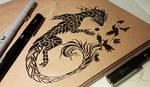 Dark raven dragon [WIP]