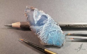 Winter dragon by AlviaAlcedo