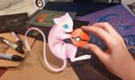 Pokemon Mew by AlviaAlcedo