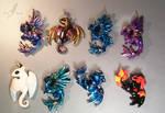 Shiny dragons