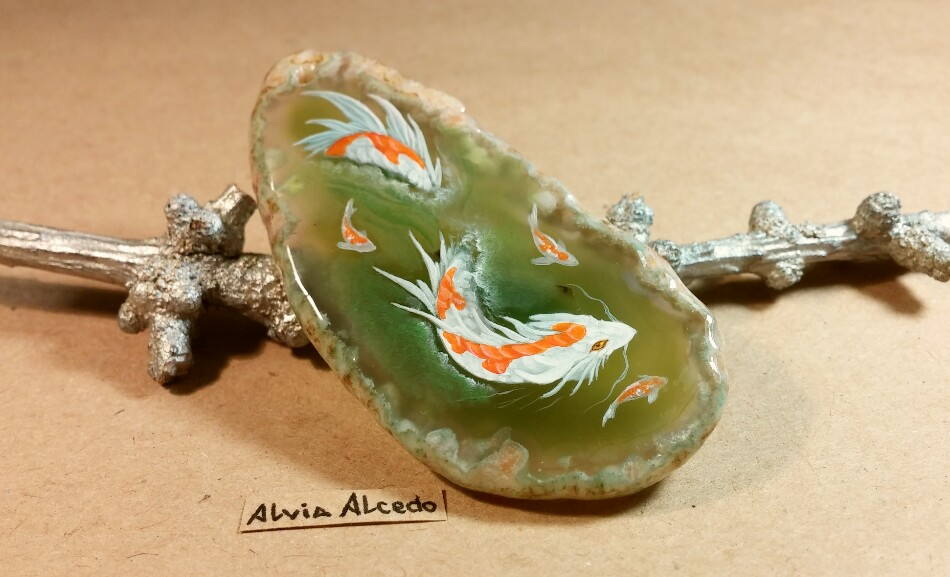 Koi dragon by alviaalcedo on deviantart for Black dragon koi