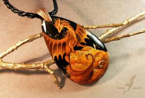 Keeper of golden  treasures by AlviaAlcedo