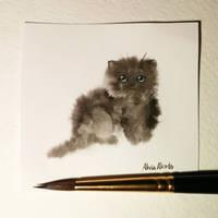 Little kitten by AlviaAlcedo