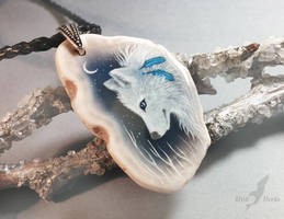 White wolf by AlviaAlcedo