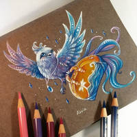 Travel bird by AlviaAlcedo