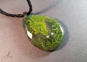 Greenery keeper pendant by AlviaAlcedo