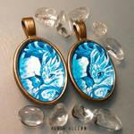 Water dragon hatchling pendants