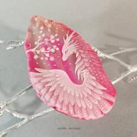 Sakura dragoness by AlviaAlcedo