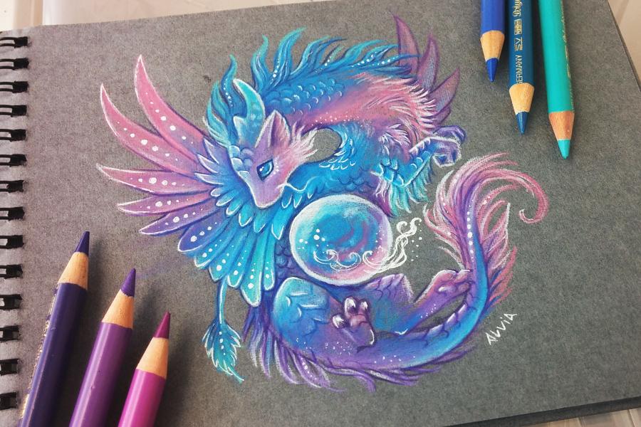 Magical orb by AlviaAlcedo