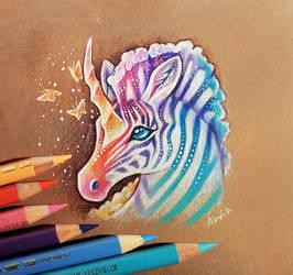 Unicorn of tropical dreams by AlviaAlcedo