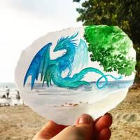 Dragon tourist by AlviaAlcedo
