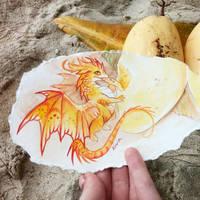 Mango dragon by AlviaAlcedo